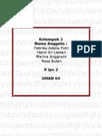 Tugas 1 Bahasa Indonesia kelas 10