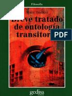 Badiou Alain - Breve Tratado de Ontologia Transitoria