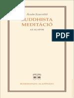 Ajahn Sucitto Buddhista Meditacio