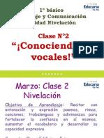 1º Básico Lenguaje Clase 2 Marzo 2013
