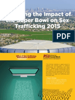Exploring the Impact of the Super Bowl on Sex Trafficking - FULL REPORT