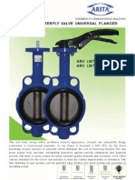 Butterfly Valve Ci Disc SUS 304