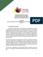 Diplomado Catedra Por La Paz Convocatoria