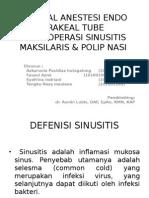 Slide Anestesi RA SAB