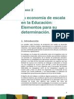 Anexo 2 Aplicación de Economías de Escala a La Educación