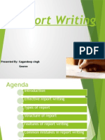 Repot Writing