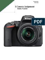 dslr camera assignment-hulda