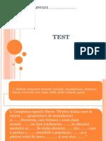 Test Istorie Clasa a Vi-A