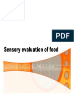 Introduction to Sensory Evaluation Version July 2012