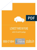 Zcabs Rate List