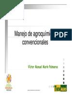 Manejo de Agroquímicos Convencionales