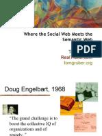 TomGruber SemWebSocialWeb