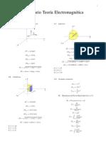 Formulario Teoría Electromangnética