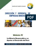 Modulo_4-Direccion Gerencia de Empresas Mineras