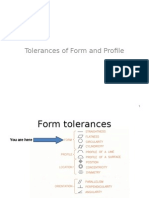 Tolerance of Form & Profile
