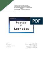 Pastas y Lechadas