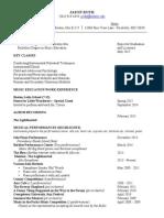 the new jason resume 2015