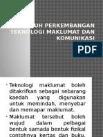 Pengaruh Perkembangan Teknologi Maklumat Dan Komunikasi