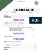 Rapport de Stage - Province Khouribga - Présentaion (Initiation)