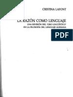 La Razón Como Lenguaje Intro