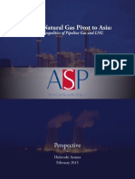 Global Natural Gas Pivot to Asia