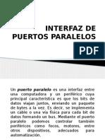 Interfaz de Puertos Paralelos