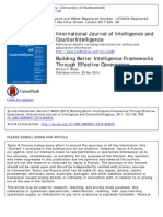 Building Better Intelligence Frameworks Through Effective Governance