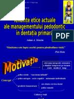 stomatologie comportament