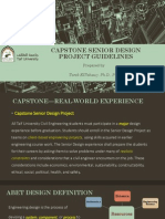 Capstone Senior Design Project Guidlines