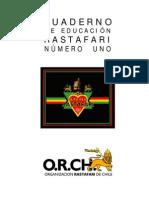 Cuaderno de Educacion Rastafari Nº 1
