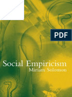 Miriam Solomon-Social Empiricism (Bradford Books)-MIT Press (2001)