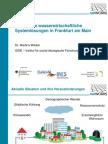 Intelligente wasserwirtschaftliche Systemlösungen in Frankfurt am Main