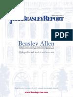 The Jere Beasley Report, Jan. 2012