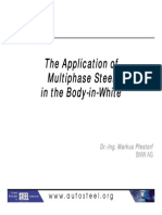 07 - The Application of Multiphase Steel in the Body in White