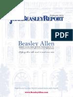 The Jere Beasley Report, Feb. 2012