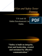 Authorised Gas and Safety Tester AGST