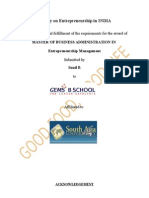 Entrepreneurship Management Project-check