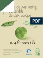Guía de marketing sostenible de CSR Europe.