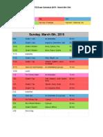 BATD Exam Schedule 2015 (Final)