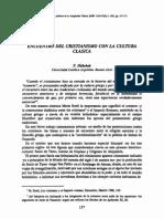 F. Hubeñak - Encuentro Del Cristianismo Con La Cultura Clásica