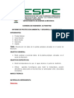 Informe de Proteccion Ambiental