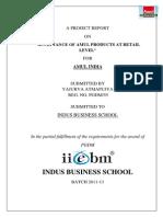 109831292 Summer Internship Project Amul India