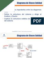 Diagrama de Clases Entidad