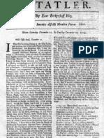 The Tatler, December 13, 1709