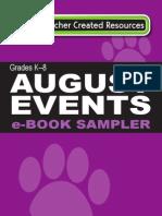 August 2013 E-book Sampler