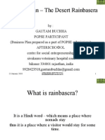 Business Plan – The Desert Rainbasera