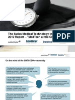 swissmedicaltechnologyindustry2010report-110225052853-phpapp02