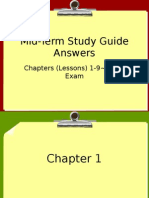 mid-term study guide answers 2015