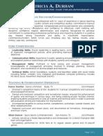 patricia a  durham resume - revised