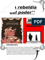 Informe de Lectura Antígona